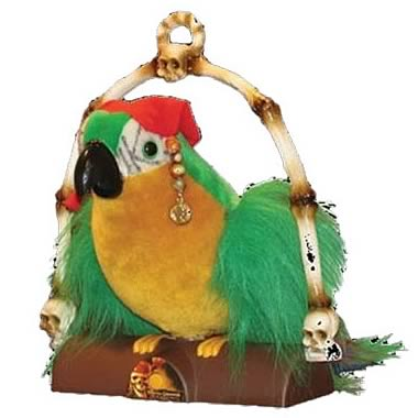 Pirates of the Caribbean 3 Cotton's Talking Parrot