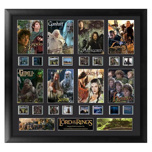 Lord of the Rings Series 1 Character Montage Film Cell