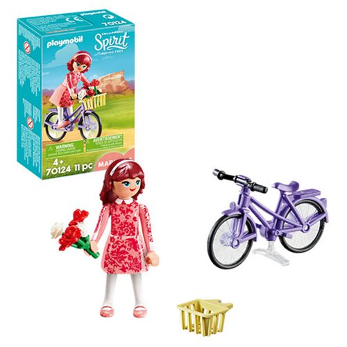 Playmobil 70124 Maricela with Bicycle