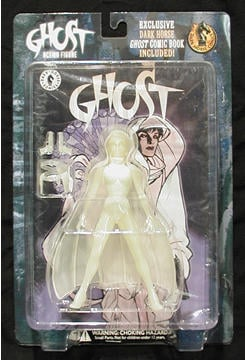 Glow-in-the-Dark Ghost Figure