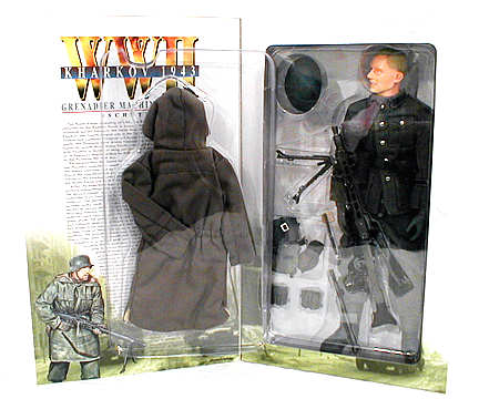 MG-42 Machine Gunner Figure