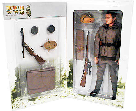Misha, Red Army Sniper Figure
