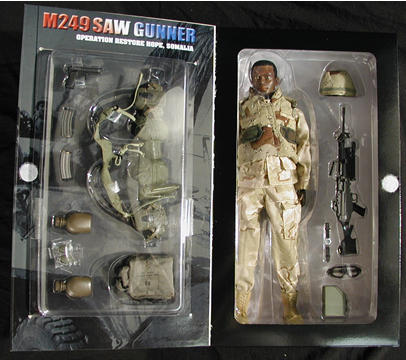 Lucas, SAW Gunner Figure