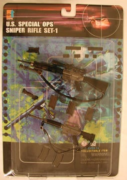 Special OPS Sniper Rifle Set 1