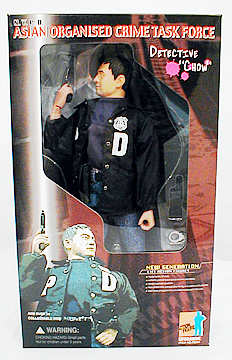 NYPD Asian Detective Figure