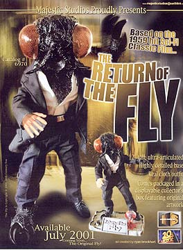 12in. Return of the Fly Figure