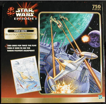 2-Sided Naboo Fighter Puzzle