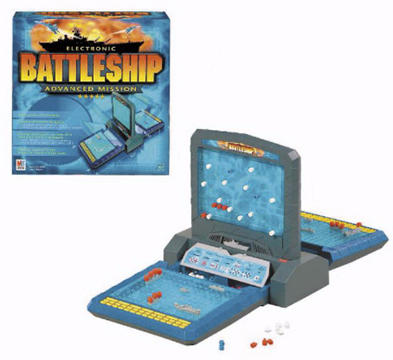 Electronic Battleship Advanced Mission Game
