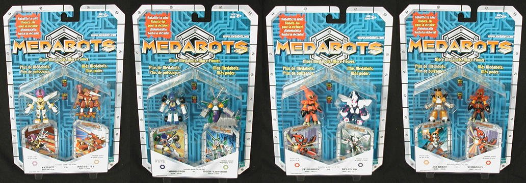 Medabot Robattle Asst. 1, Set