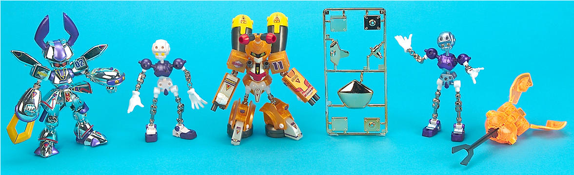 Medabot Dual Mode Robot Set