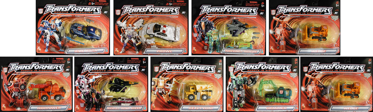 Dlx. Robots in Disguise Wave 3