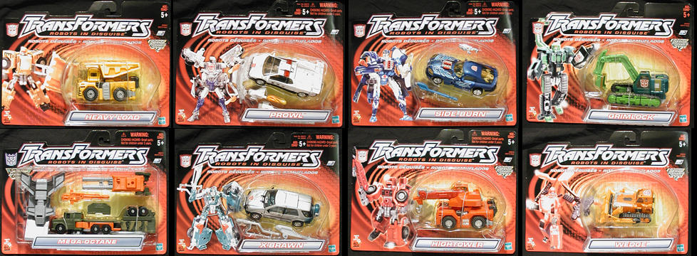 Dlx. Robots in Disguise Wave 4