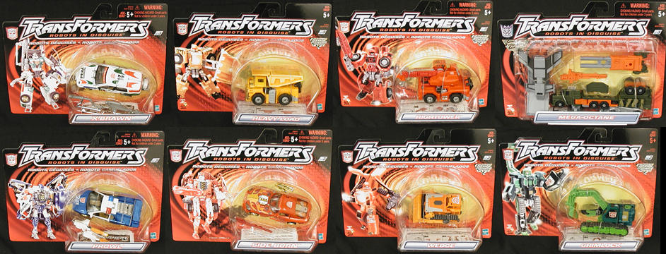 Dlx. Robots in Disguise Wave 5