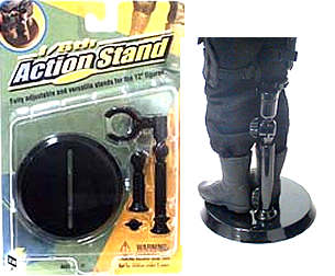 12in. Action Stand, Black