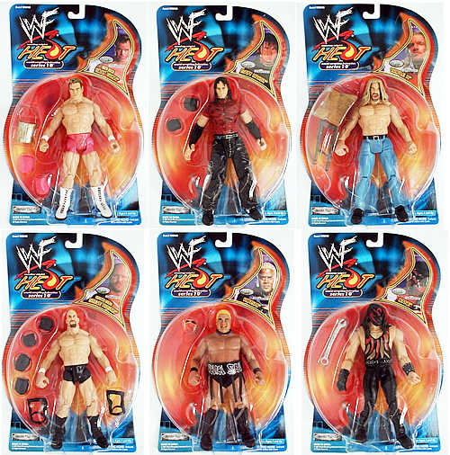 WWF Figures Series 10 Case