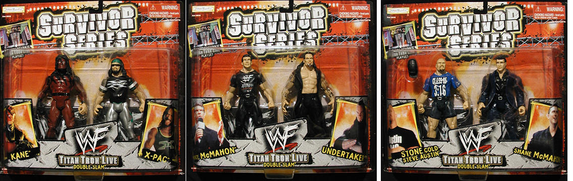 WWF Double Slam 3-Pack