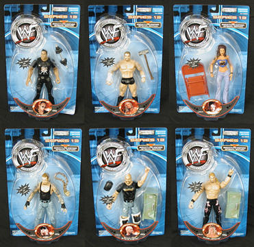 WWF Figures Series 13 Case