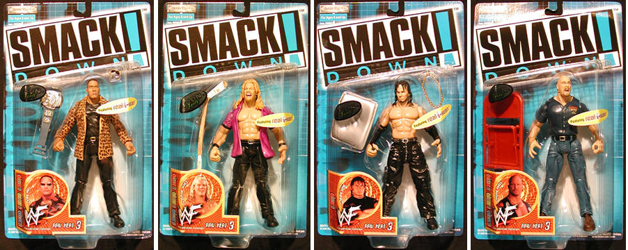 WWF Raw Heat Series 3 Case