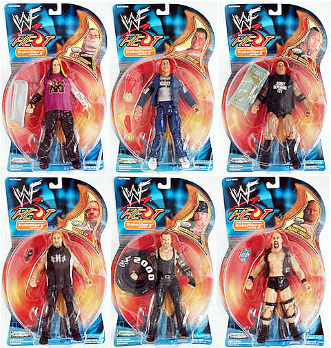WWF Rebellion Series 3 Case
