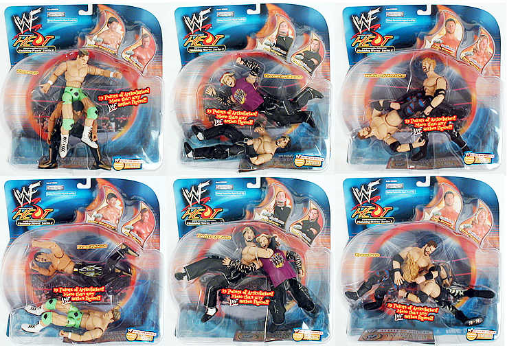 WWF Finishing Moves Series 3