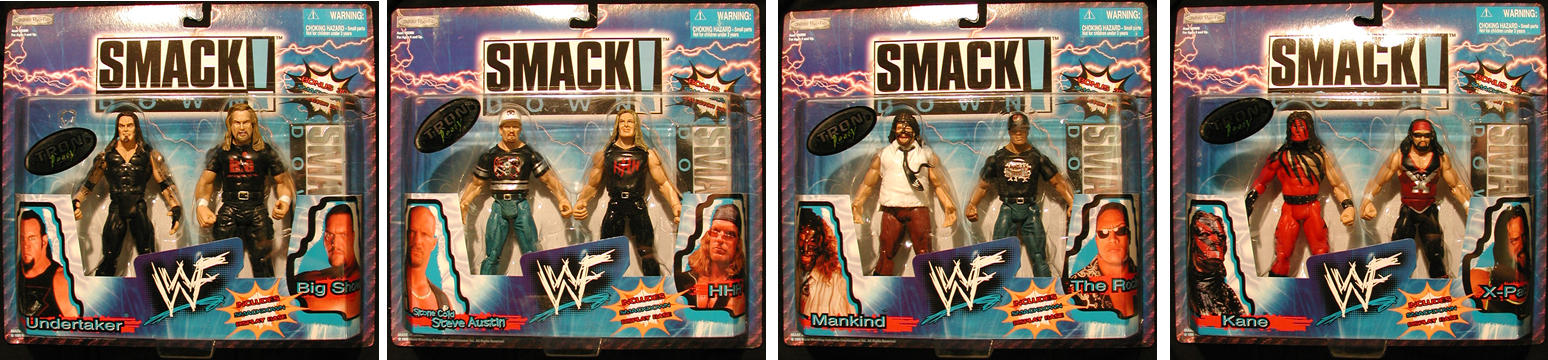 WWF Smackdown 2-Pack Set
