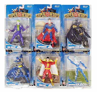 DC Comics 6-Pack, Not Mint