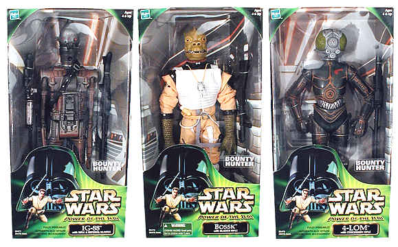 12in. Bounty Hunters 3-Pack
