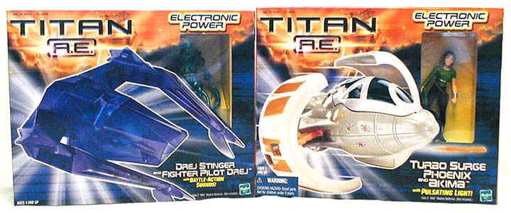 TAE Space Cruiser 2-Pack