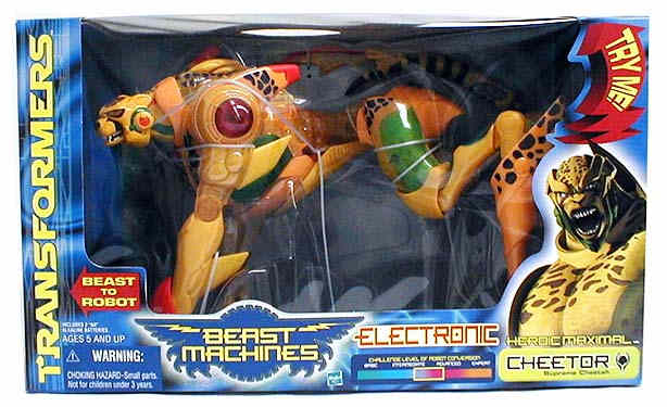 Beast Machines Supreme Cheetor