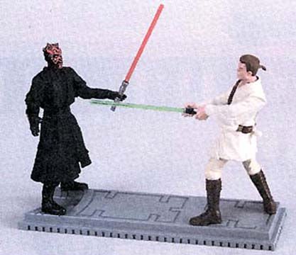 Darth Maul vs. Obi-Wan Kenobi