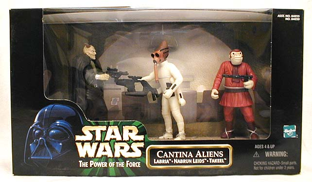 Star Wars Cantina Aliens Action Figure 3-Pack
