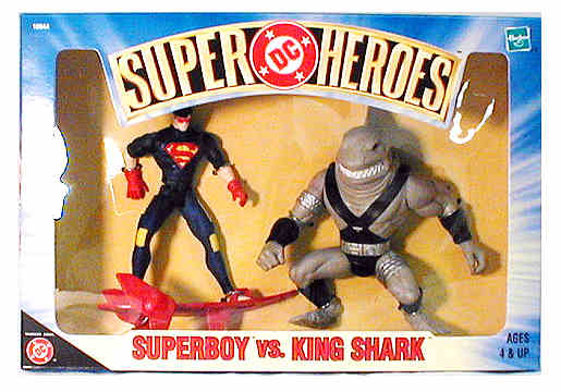 Superboy vs. King Shark
