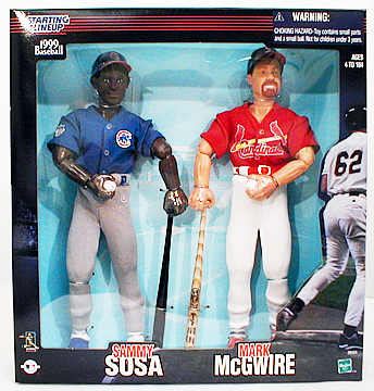 12inch McGwire/Sosa 2-Pack