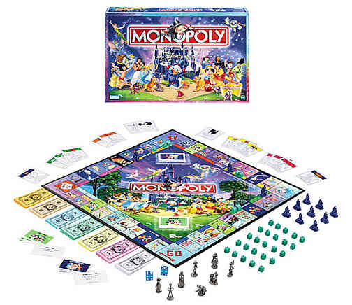 Disney Edition Monopoly