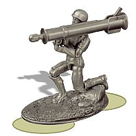 Pewter U.S. Army Infantry