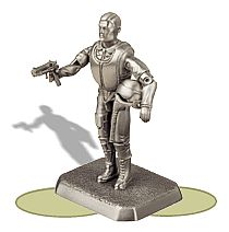 Pewter Air Force Fighter Pilot