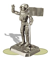 Pewter G.I. Joe Astronaut