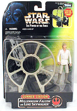 Star Wars Luke Skywalker Gunner Station Action Figure