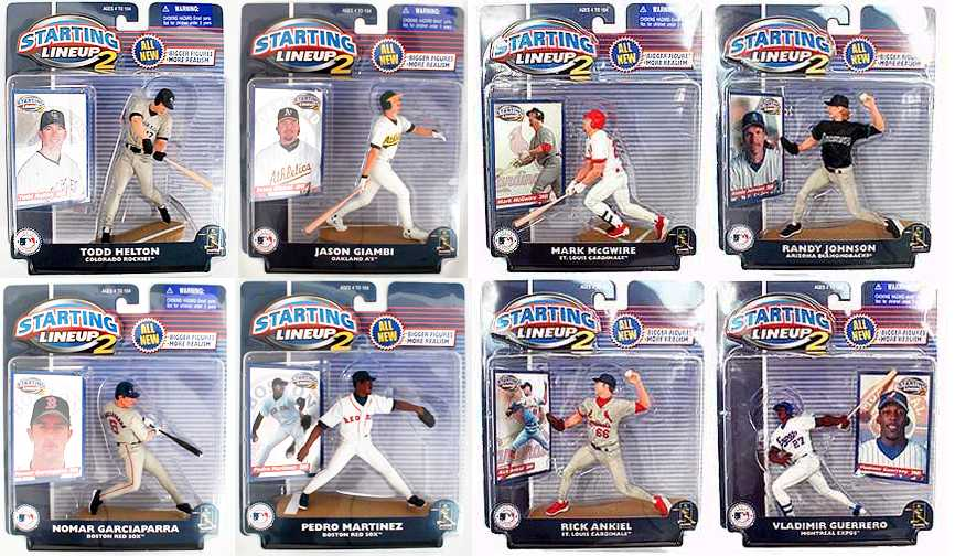 2001 MLB All-Stars (Series 2)