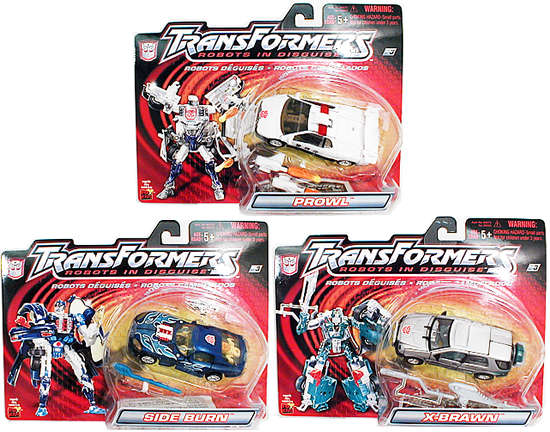 Dlx. Robots in Disguise Wave 1