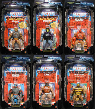 Masters of the Universe Set