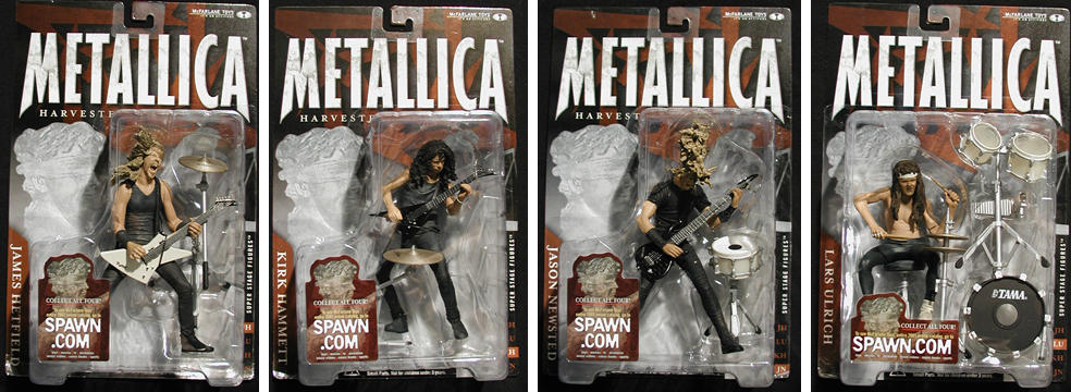 Metallica Action Figure Asst.