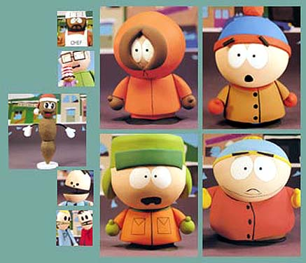 South Park Action Figure Case