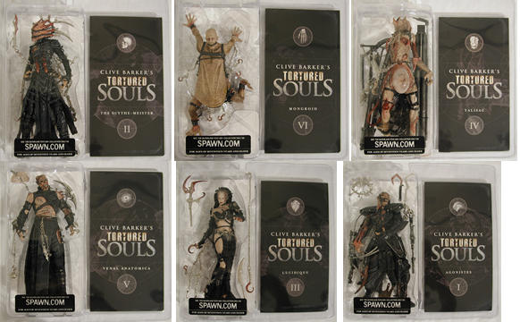 Tortured Souls (Series 1) Asst
