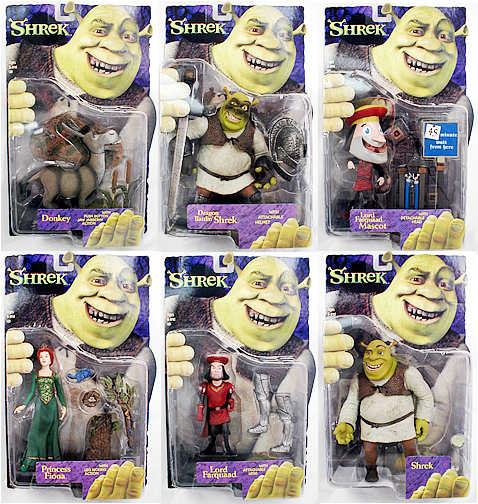 Shrek 6inch Action Figure Asst