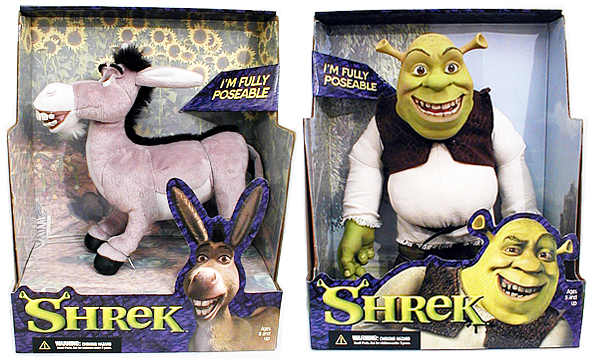 Shrek Plush Case