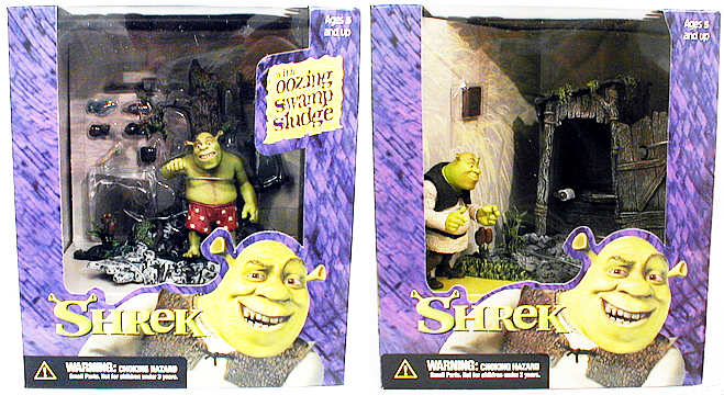 Shrek Deluxe Playset Case