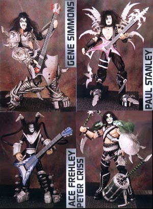Kiss: Ultra Action 4-Pack