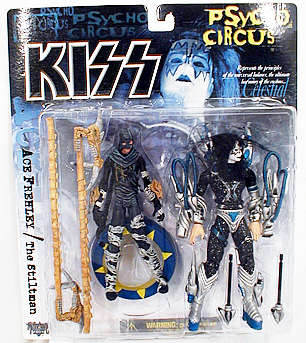 Ace Frehley Figure, Not Mint