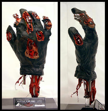 T2 Damaged Hand Replica